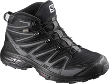 X-Chase Mid GTX Women's Musta UK 5
