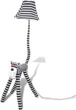 Standerlampe Zebra design
