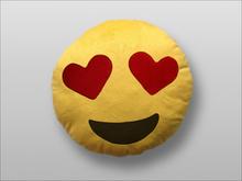 Emoji Smiley puder (Heart Eyes)