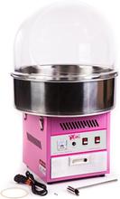 Candyfloss maskine professionel 1200W med kuppel