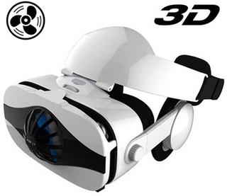 Fiit VR 5F Virtual Reality 3D Briller med Høretelefoner - 4-6.3