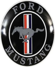Emaljeskilt Ford Mustang