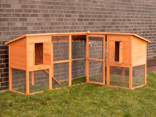 Hønsehus med hønsegård model capital