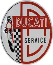 Emaljeskilt Ducati