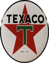 Emajleskilt Texaco