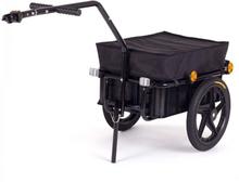 Cykeltrailer Samax sort 40/60 kg / 70 liter