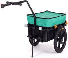 Cykeltrailer Samax grøn 40/60 kg / 70 liter