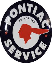Emaljeskilt Pontiac