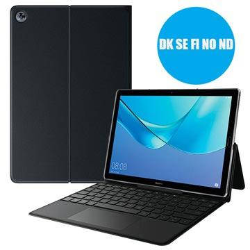 Huawei MediaPad M5 10/M5 10 (Pro) Cover med Tastatur 388419 - Sort