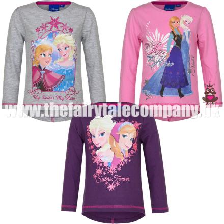 Frost bluse, langærmet, lyserød - TheFairytaleCompany