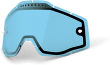 100% Vented Dual Vaihtolinssit, blue / clear 2020 Ajolasitarvikkeet