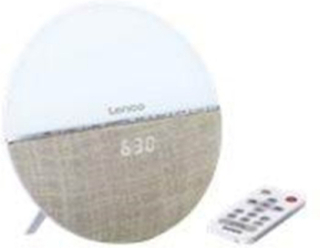 Bærbar radio CRW-4 - clock radio - Bluetooth - FM - Stereo - Hvid