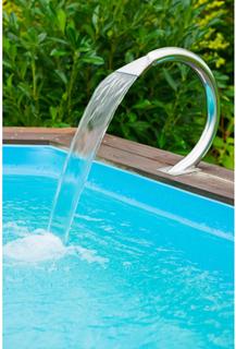 Ubbink Vattenfall Mamba 14,5x46,5x50 cm stål