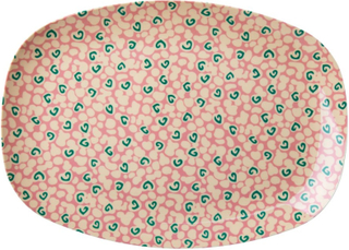 Rice Brett i Melamin Liquid Spots Print