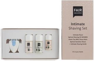 Fair Squared Shaving set intimate shaving oil, aftershave balm, 1 pk