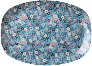 Rice Brett i Melamin Small Flower Print