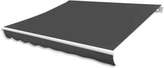 vidaXL markisedug antracitgrå 300 x 250 cm