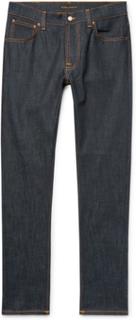 Lean Dean Slim-fit Organic Denim Jeans - Dark denim