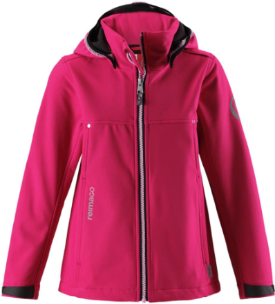 Cornise Softshell Jacket Punainen 140