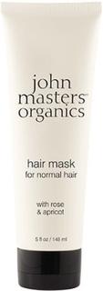 Hair Mask Rose & Aprikos - John Masters, 148 ml