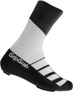 GripGrab RaceAero TT skoovertræk - Hvid/sort