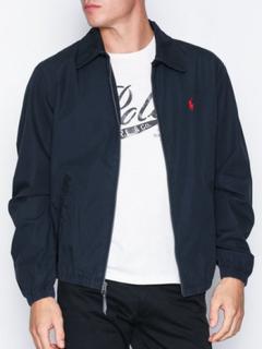 Polo Ralph Lauren Poplin Cotton Jacket Jakker Navy