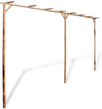 vidaXL Pergola bambu 385x40x205 cm