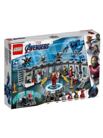 DC Comics Super Heroes 76125 Iron Mans dragtgalleri - Proshop