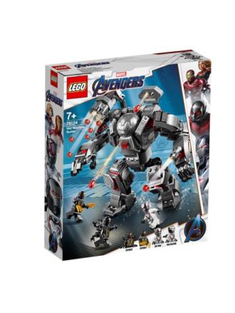 DC Comics Super Heroes 76124 War Machine-kamprobot - Proshop