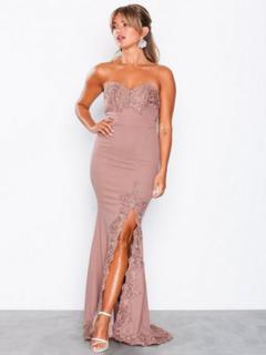 Love Triangle Gala Event Maxi Dress Mauve