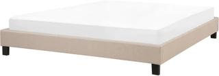 Dubbelsäng 180 x 200 cm beige ROANNE