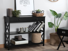Konsolbord svart MONTGOMERY
