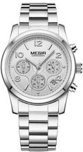MeGIR MS2057L Damklocka i rostfritt stål - Silver