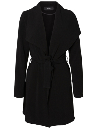 VERO MODA Long Coat Women Black