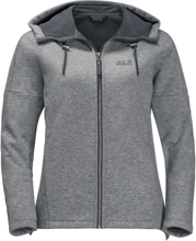 Jack Wolfskin Sky Thermic Hooded Jacket Women Herr Tröja Grå XS