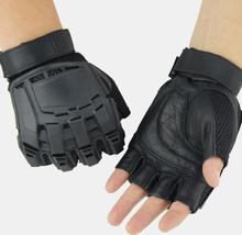 Taktische Handschuhe für den Außenbereich Motorradreiten Bergsteigen Halbfingerhandschuhe