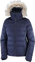 Salomon Women's Stormcozy Jacket Dame skijakker fôrede Blå XL