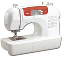 Brother Sewing Machine Electronic White/Red