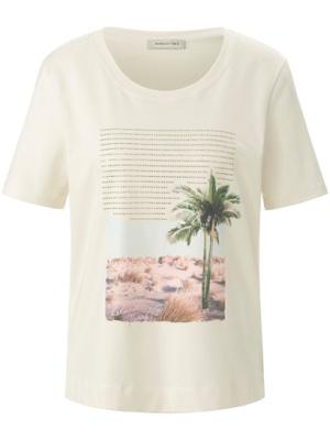 Rundhals-Shirt Margittes weiss