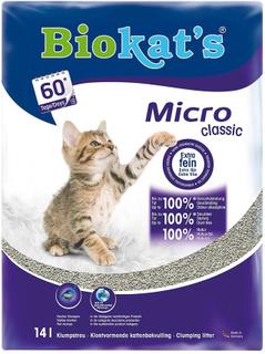 12 +2 L gratis! 14 L Biokat's kattesand - Micro