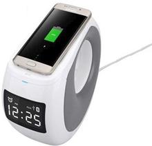 Supreme NILLKIN Bluetooth/NFC Højttaler med Qi ladestation - Hvid