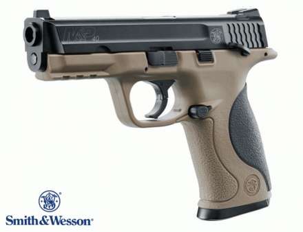 Smith&Wesson M&P40 TS - Blowback Luftpistol 4,5mm BB
