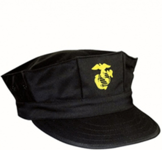 Field cap USMC, Black