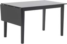Sander bord med klaff - Svart - 120 / 155 cm