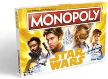 Hasbro Monopoly Game: Han Solo - Star Wars Edition (Engelsk Version)