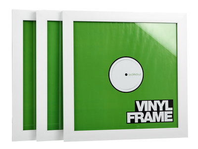 """Glorious 12"""""""" Vinyl Frame Set White"""