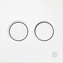 Gustavsberg Väggtrycke Triomont XS pneumatisk duo vit