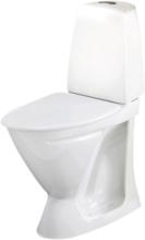 Ifö Sign WC-stol 6872, hög model vit med mjuksits vit