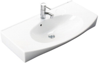 Ifö Caprice tvättställ 87 cm 2132 Vit
