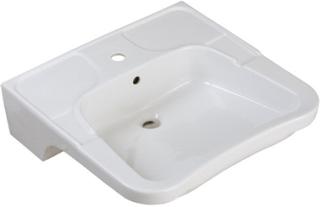 Ifö tvättställ 2512 - Vit med bräddavlopp